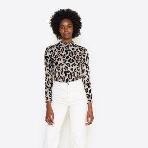 DemyLee Scarlett Jacquard Leopard Pullover